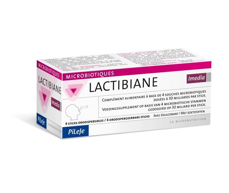LACTIBIANE IMEDIA 4 STICKS DE LABORATORIOS PILEJE