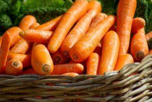 Zanahorias beneficiosas para la piel